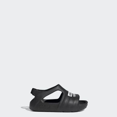 Kids Originals Black Adilette Play Slides
