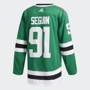 Hockey Green Stars Home Authentic Jersey
