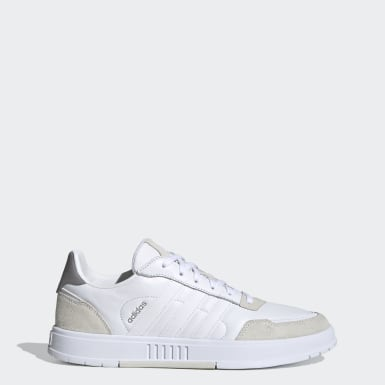 Men Sport Inspired White Courtmaster Shoes