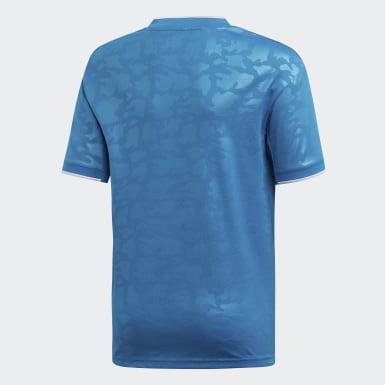 Camisa Juventus 3 Azul Meninos Futebol