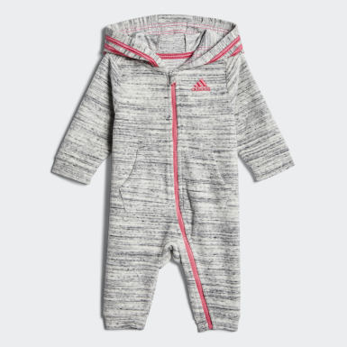 Heathered Velour Coveralls