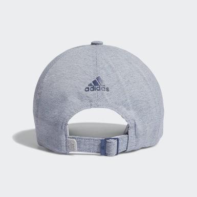 Women Golf Blue Crestable Heathered Hat