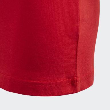 Must Haves  T-shirt Badge of Sport Rouge Garçons Yoga