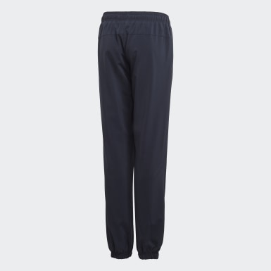 Boys Lifestyle Blue Essentials Plain Stanford Pants