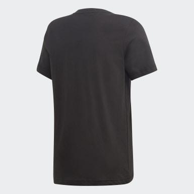 T-shirt London Badge of Sport Noir Garçons Training