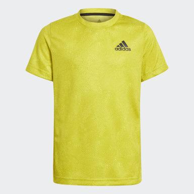 Camiseta HEAT.RDY Primeblue Tennis Freelift Amarillo Niño Tenis