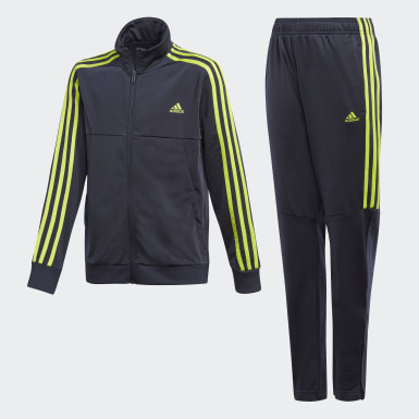 Boys Training Blue Tiro Tracksuit