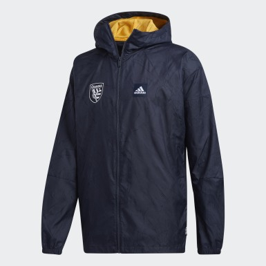 San Jose Earthquakes adidas W.N.D. Primeblue Jacket