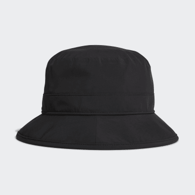 Golf Black Rain Hat
