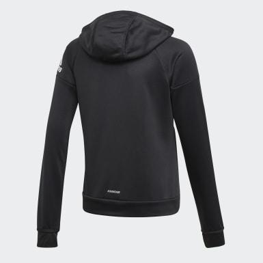 Veste à capuche Equipment Noir Filles Yoga
