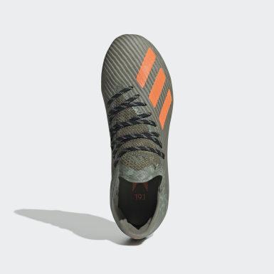 Børn Fodbold Grøn X 19.1 Firm Ground støvler