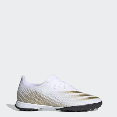 Fodbold Hvid X Ghosted.3 Turf støvler