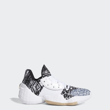Kids Basketball White Harden Vol. 4 Shoes