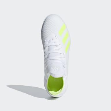 Zapatos de Fútbol X Tango 18.3 Césped Artificial Blanco Niño Fútbol