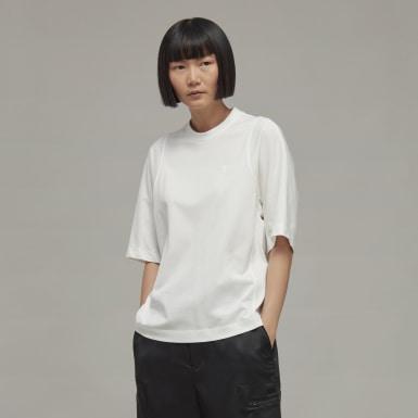 T-shirt Y-3 Classic Tailored Blanc Femmes Y-3