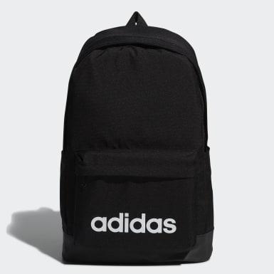 Sport Inspired สีดำ กระเป๋าสะพายหลังทรงคลาสสิกขนาดใหญ่พิเศษ