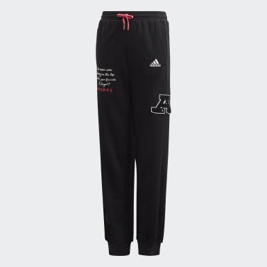 Kids Athletics Black Collegiate Pants