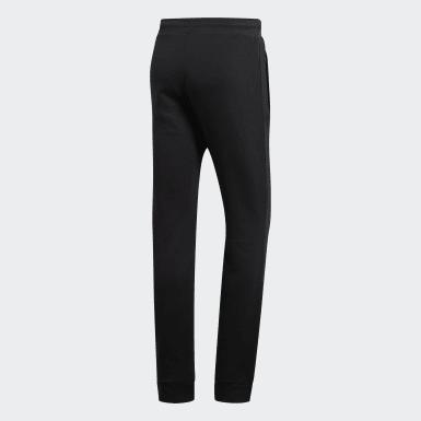 Muži Originals černá Kalhoty LOUNGEWEAR Trefoil Essentials