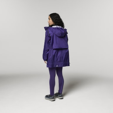 Women adidas by Stella McCartney Purple adidas by Stella McCartney True Pace Run Jacket WIND.RDY