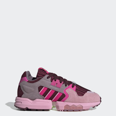 Tenis ZX Torsion Burgundy Mujer Originals