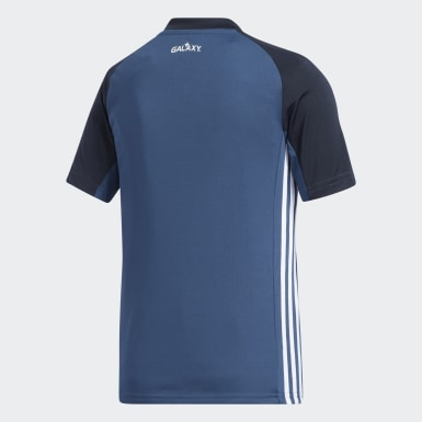 Youth Soccer Blue LA Galaxy Away Jersey