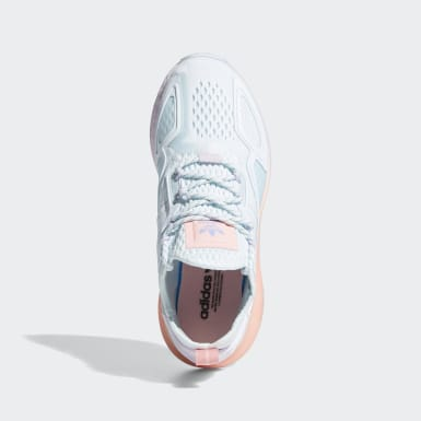 Youth Originals Blue ZX 2K Boost Shoes