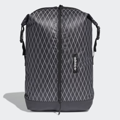 Essentials Black Premium Essentials Roll-Top Backpack