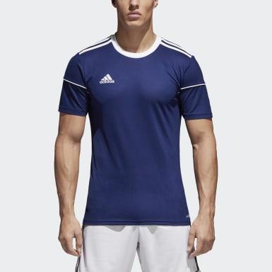 Camisa Squadra 17 Azul Homem Futebol