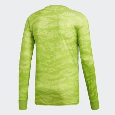 Mænd Fodbold Grøn AdiPro 18 Goalkeeper trøje