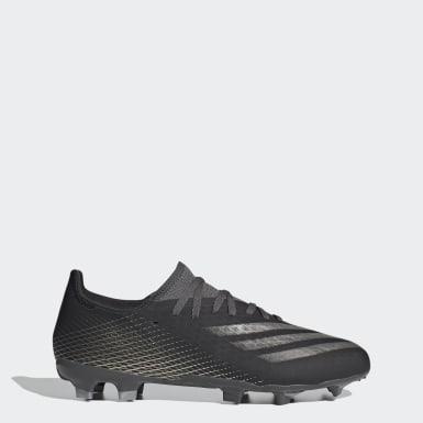 Zapatos de fútbol X Ghosted.3 Terreno Firme Blanco Hombre Fútbol
