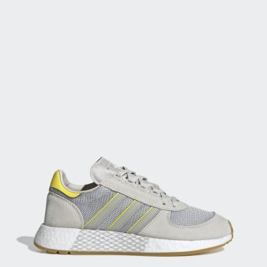 Women Originals Grey Marathon Tech Shoes