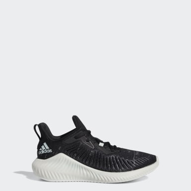 Zapatillas Alphabounce+ Run Parley Negro Niño Running