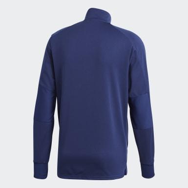 Camiseta manga larga entrenamiento Condivo 18 Multisport Azul Hombre Fútbol