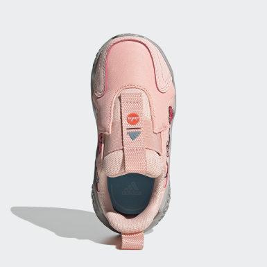 Infants วิ่ง สีชมพู รองเท้าวิ่ง 4uture RNR