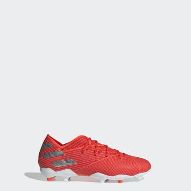 Nemeziz 19.1 FG Boots Czerwony