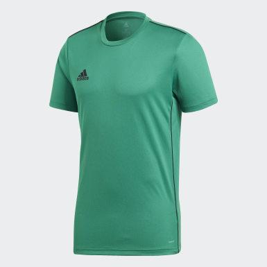 Mænd Træning Grøn Core 18 træningstrøje