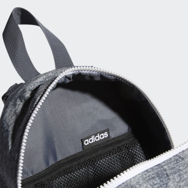 Essentials Grey Linear Mini Backpack