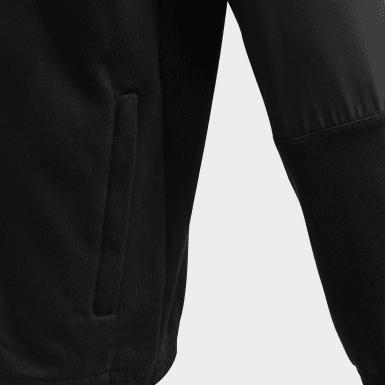 Veste de survêtement XFG Cover-Up Noir Garçons Athletics
