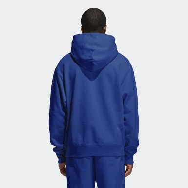 Hoodie Pharrell Williams Basics (Unisex) Blu Originals