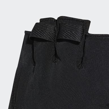 ผู้หญิง เทรนนิง สีดำ ถุงมือ 4ATHLTS