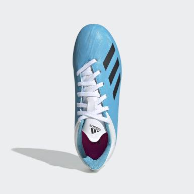 Chaussure X 19.4Multi-surfaces bleu Soccer