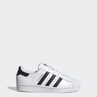 Youth Originals White Superstar Shoes