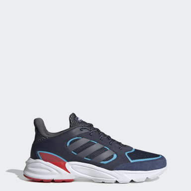 Men Running Blue 90s Valasion Shoes