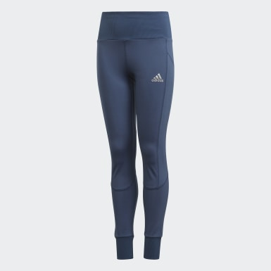 Youth Training Blue AEROREADY High-Rise Comfort Workout Yoga Tights