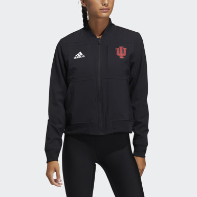 Women's Athletics Multicolor Hoosiers Under the Lights Bomber Jacket