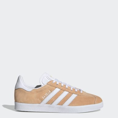 Dames Originals oranje Gazelle Schoenen
