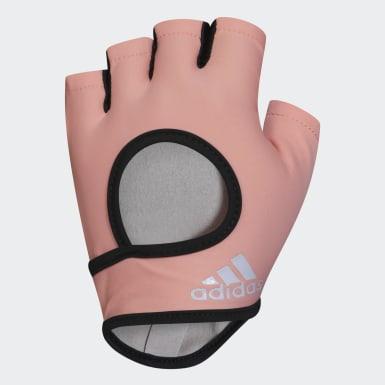 оранжевый Перчатки для фитнеса, размер L