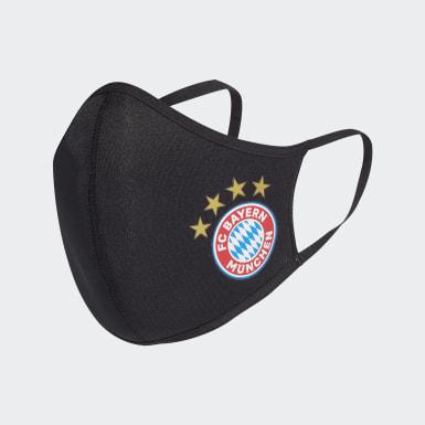 Athletics černá Rouška FC Bayern Face Cover XS/S 3 kusy