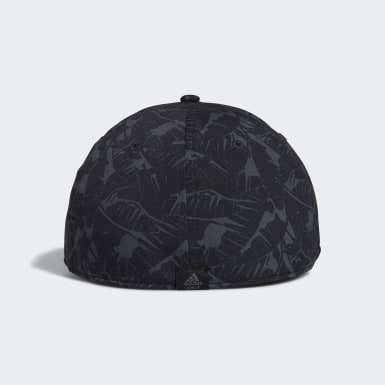 Men Golf Black Tour Print Hat