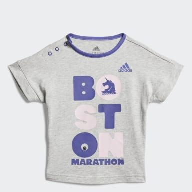 Infant & Toddler Running Grey Boston Marathon�� Future Marathoner Tee